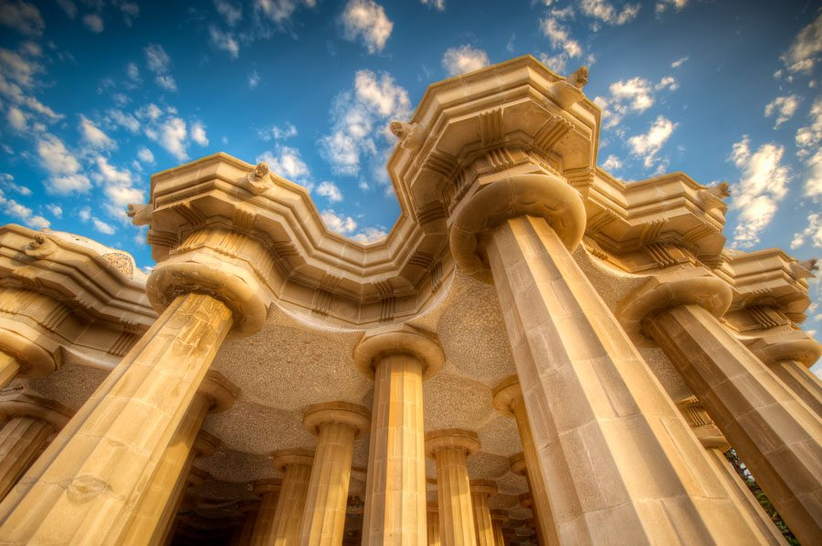 The Pillars of Parc Guell