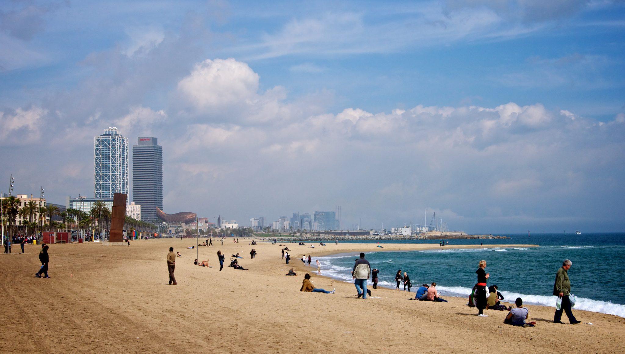 Barcelona Vila Olimpica Beach